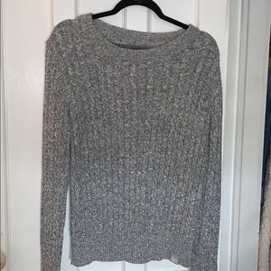 Super Dry grey sweater women's size L